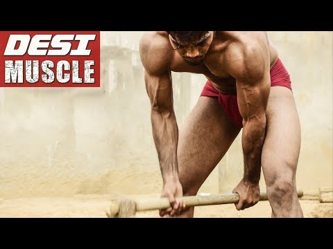 HIGH INTENSITY WORKOUT Using Farming Tools