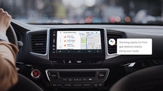 Your Google Assistant on Android Auto: Find and go