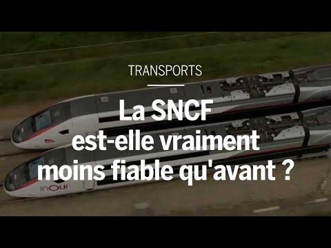 La SNCF est-elle vraiment moins fiable qu'avant ?