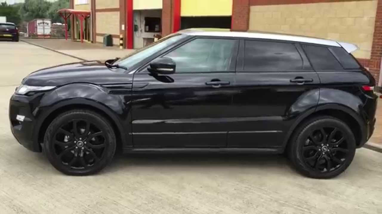 Evoque Dynamic With Silver Contrast Roof Roof Black