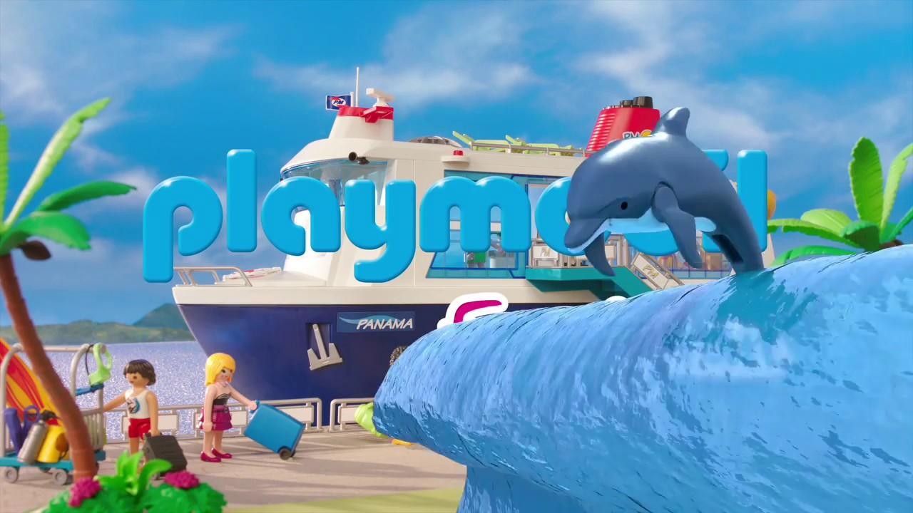 playmobil pr sente les vacances bord du bateau de croisi re belgique youtube. Black Bedroom Furniture Sets. Home Design Ideas