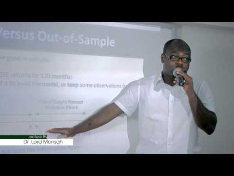 Econometrics for Finance - S5 - Univariate Time Series - Modeling and Forecasting