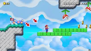 Gusty Gardens By ShinyTurky一SUPER MARIO MAKER 2一 No Commentary
