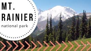 Mt. Rainier National Park - Family Day  - Family Hiking - Sunrise Visitor Center
