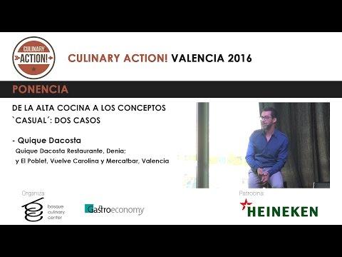 Quique Dacosta Culinary Action Valencia 2016