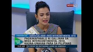 NTG: For the record: Karen Gallman, Miss Intercontinental 2018