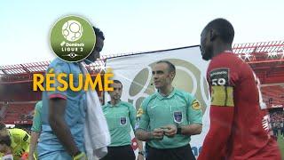 Valenciennes FC - Stade de Reims ( 1-3 ) - Résumé - (VAFC - REIMS) / 2017-18