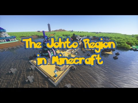 The Johto Region in Minecraft - A Project Six Years in the Making!