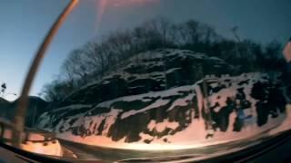 【車載動画】2017.1.6 宝台樹スキー場〜水上IC