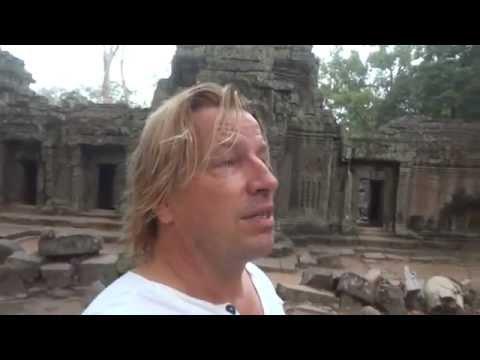 Buddha hood - suffering - purpose of life - Jungle temple of Ankor Wat