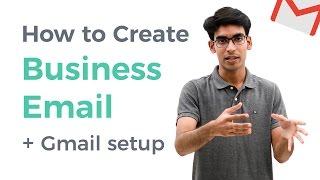 So Erstellen Sie Kostenlose Business-E-Mail und Verwenden Sie es mit Gmail