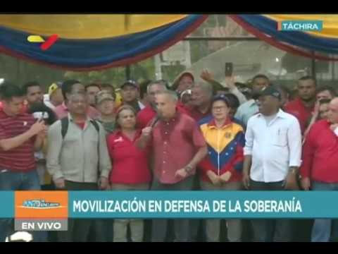 Freddy Bernal desde gran marcha en estado Táchira, 11 febrero de 2019