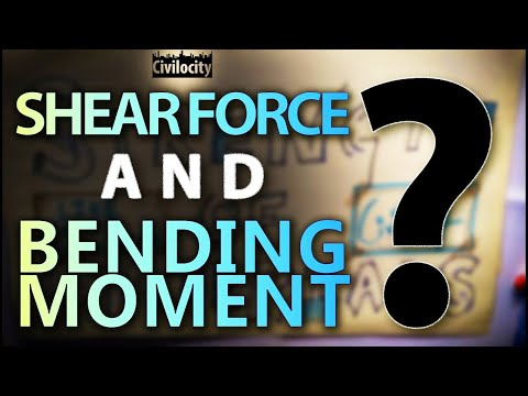 What is Shear Force and Bending Moment? | Lecture - 18