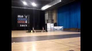Anja Lakota & Eva Logar Slo Cheer Open 3.6.2012
