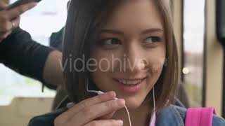 Close up of Man with Beard Playing on Tablet - (lifestyle) Stock Footage | Mega Pack +40 items