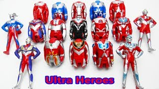 Ultraman Ultra Egg Ginga Gaia Tiga Mebius Zero Ultra Mainan Heroes ...