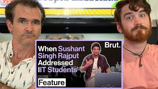 The Understated Wisdom Of Sushant Singh Rajput REACTION!!