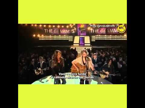 Taylor Swift Fifteen And Miley Cyrus ( Grammy 2009 ) Tradução PT