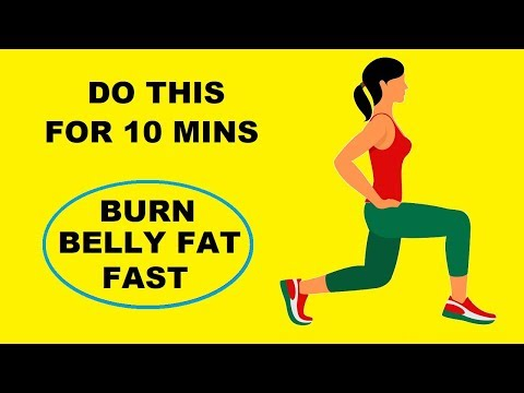 10 Min Of THIS Burns BELLY Fat Fast : 100% Bodyweight Workout