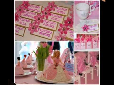 DIY Barbie birthday party decorating ideas YouTube