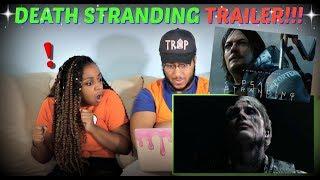 """Death Stranding"" Release Date Reveal Trailer REACTION!!!"