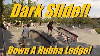 Darkslide Down Hubba Ledge - Andy Anderson - UBC Skate Park