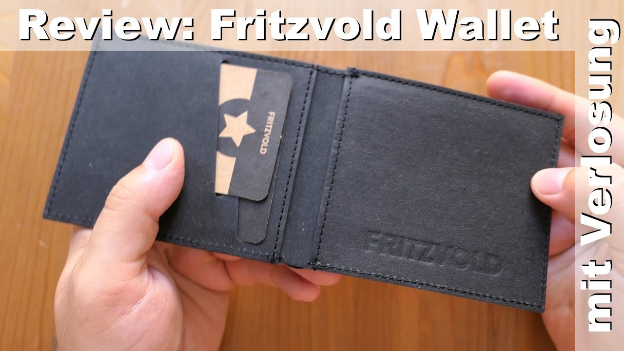 e0c0b03ef996b Review  Fritzvold Minimal Wallet - vegane Brieftasche - YouTube