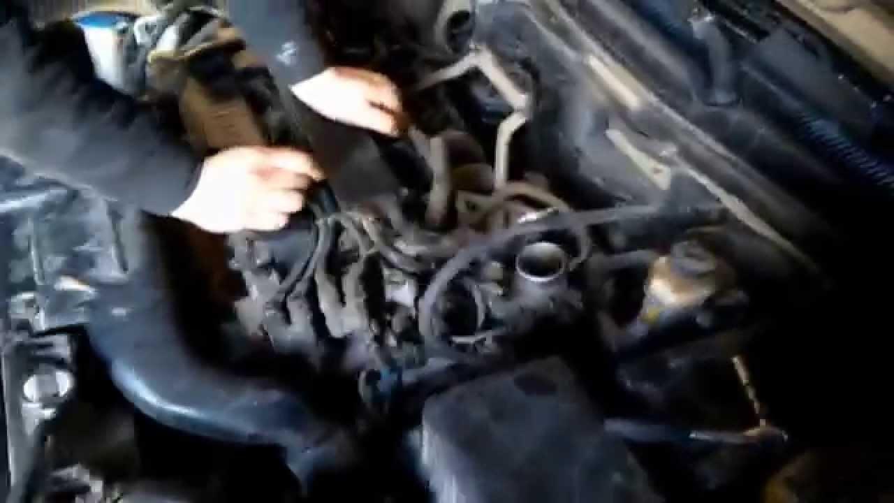 как почистить дроссельную заслонку на киа сид 2008 видео