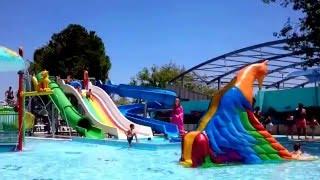 Antalya Kemer Dolusu aquapark masal park birarada. Biz çok beğendik.Devasa kaydıraklar.