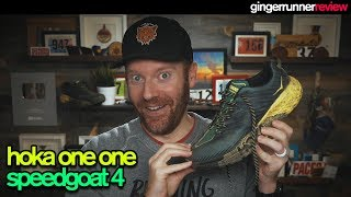 HOKA ONE ONE SPEEDGOAT 4 REVIEW | The Ginger Runner