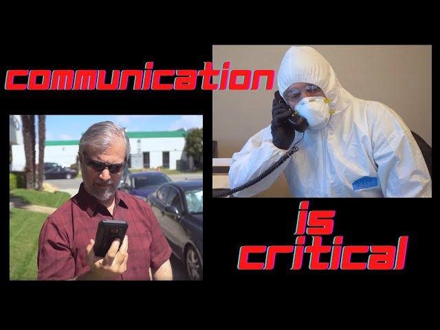 Communication is Critical