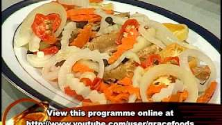 Saltfish Stewed Peas - Grace Foods Creative Cooking Traditional Jamaican Dishes