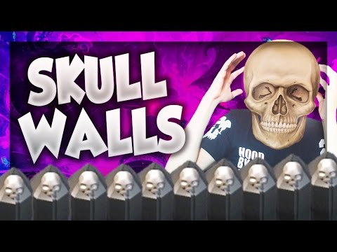 ► ROAD to SKULL WALLS !! FARMING VIOLENTO TH8