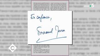 Macron : sa lettre aux français - C à Vous - 14/01/2018