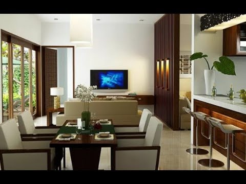 Desain Ruang Keluarga Yang Menyatu Dengan Ruang Makan