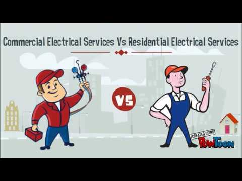 Commercial Vs Residential Electrical Services