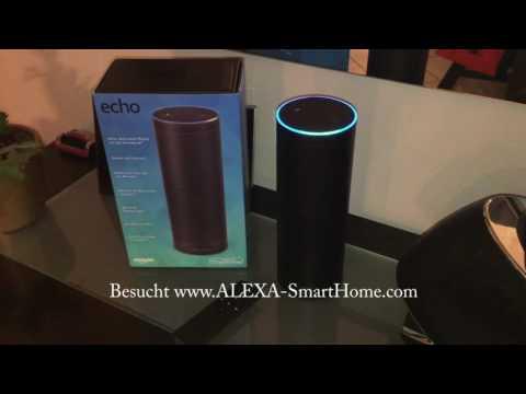 Amazon Echo ALEXA Musik abspielen