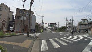 【自転車車載】葛飾区東四つ木2丁目付近〜葛飾小菅郵便局(2017/06/20)