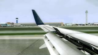Boeing 737-800 Landing In Cancun [FSX]