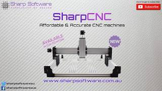 SharpCNC -  3 axis CNC mill frame kits with a lot of versatility