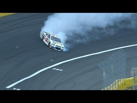 Newman makes great save during AllStar qualifying