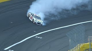 Newman Makes Great Save During All-Star Qualifying