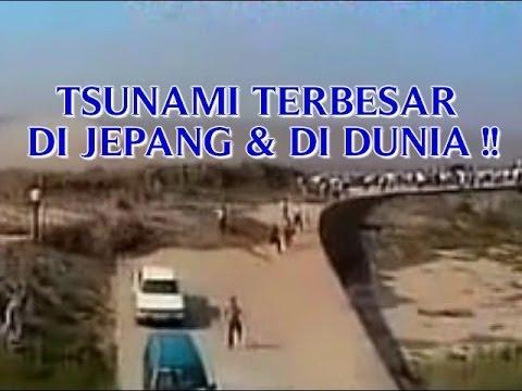 "VIDEO ""TSUNAMI TERBESAR DI JEPANG"" MERUPAKAN TSUNAMI TERBESAR DI DUNIA !!"
