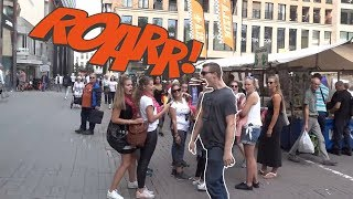 Extreme Burping IN Public Compilation / Most Epic Dinosaurs Roars IN Public