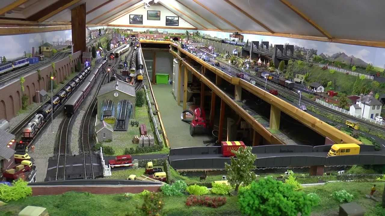Tour Of Dave S New Model Railway Completed Youtube