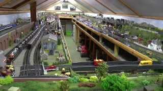 Tour of Dave`s New Model Railway Completed