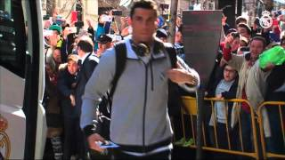 BEHIND THE SCENES: This is how Real Madrid arrived in Granada