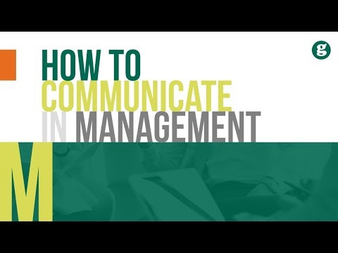 How To Communicate In Management