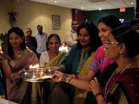 Traditional Indian Babyshower Oct 6 2008 Part 4 Youtube