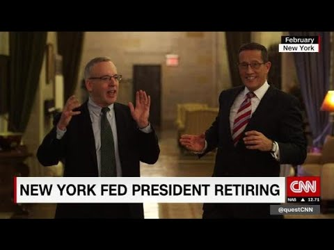 NY Fed Governor Bill Dudley to retire